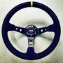 最新款OMP大凹絨毛改裝方向盤,競技賽車方向盤,手感很好