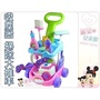 麗嬰兒童玩具館~扮家家酒.粉紅魔法吸塵器清潔打掃推車-聲光吸塵器