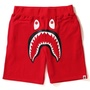 A bathing ape bape shark sweat shorts 鯊魚 棉短褲