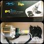 M3 mini LED 大燈  燈泡 H4 H6  H17 HS1 白 。 暖白  風扇版 三面光 24W 2500LM