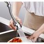 免運直出~廚房增壓水龍頭360度可旋轉活動洗碗神器轉接頭防濺頭花灑嘴水器