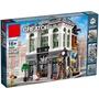 Queen 拼裝積木 兼容樂高10251 積木銀行 K84009 創意系列 街景建築  A2