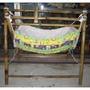 竹製嬰兒搖籃架 (送搖籃布)