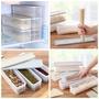 大容量密封麵條儲存盒 廚房食品儲存罐保鮮盒 日式麵條收納盒 食物保鮮盒