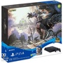 PS4專業版主機極致黑PRO魔物獵人同捆機贈魔物獵人世界會籍七天
