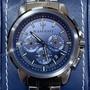【時刻魔力】MASERATI 瑪莎拉蒂灰黑鋼三眼計時腕錶-SUCCESSO系列(R8873621005)