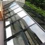 [和宜企業有限公司]採光罩 鋁格柵 鋁鋼構 玻璃屋 強化膠合玻璃 雨遮(台北 桃園 新竹 基隆 宜蘭)
