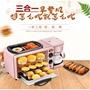 限時特價 宅配免運家用麵包機三合一多功能一體早餐機 煎烤煮多功能 咖啡機 烤箱 烘焙  220V