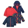 【英倫代購】 JoJo Maman Bebe 四合一防水保暖外套 Waterproof Polarfleece