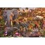 新品睿思Ravensburger 德國進口拼圖17037 非洲動物3000片