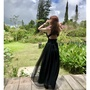 Fidressy✨婚禮洋裝 黑色長洋裝 長禮服 禮服 長洋裝 禮服婚紗 度假洋裝 婚禮洋裝 蕾絲洋裝 宴會禮服 黑色禮服