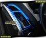 莫名其妙倉庫【CS073 出風口裝飾外框(藍)】新款 內裝 不鏽鋼裝飾貼片 鈦藍款 Focus MK3.5