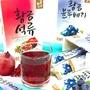 韓國黃金柚子品牌 (10條入)沖泡隨身包盒裝 二款可選:石榴茶/藍莓茶 [KR400] 蘋果甜心漾