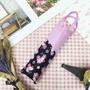 摺疊傘 Hello Kitty 變色 滿版 櫻花 附收納提袋 雨傘 日本進口正版授權 JustGirl