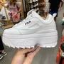 韓國🇰🇷代購 現貨 fila disruptor 2 wedge 厚底 鋸齒鞋