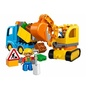 全新現貨 LEGO Duplo 傾倒卡車 與 挖土機Truck & Tracked Excavator(10812)
