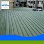 鋼架鐵皮屋新建--屋頂坪鋁鋅三明治雙層鋼板