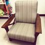 皇齊 實木 單人沙發椅