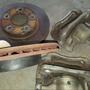 Civic 八代 11年原廠卡鉗/碟盤 可拆賣
