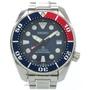 和新貨一樣的精工專業規格潛水員水下呼吸器SBDC057/6R15-04C0自動卷手錶SS深藍/紅藏青色紅0009SEIKO人 LIFE TIME Rakuten-ichiba