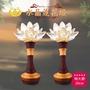 【新韻傳音】水晶蓮花燈(12吋- 30公分)
