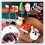 【aife life】搖搖聖誕造型髮夾/耶誕/麋鹿/賣萌 小草髮夾/聖誕佈置/聖誕樹/聖誕燈/聖誕帽/聖誕裝/聖誕禮物