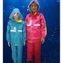 新款兒童雨衣兩件式  男童 女童小學生 反光雨衣雨褲套裝 六色 買一送一!!!!!