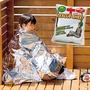 防水防風鋁箔保暖毯/睡毯 (2個)