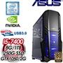 華碩 PLAYER【古原爭霸】Intel i5-7400 GTX1050 2G 高效能燒錄電腦