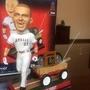 Mike Trout MLB洛杉磯天使隊搖頭娃娃公仔 拉車還有根釣竿