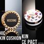限定版⭐️TONYMOLY x MOSCHINO氣墊粉餅 限量黑金卯釘款 白盒保濕款氣墊粉霜 補充包