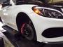 Benz w205  前輪brembo 18z  後輪加大碟盤 #卡鉗#煞車#活塞