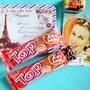 團購爆夯!印尼版的雷神巧克力!!!【Delfi】迪飛TOP草莓脆米威化餅