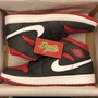 BEETLE PLUS NIKE AIR JORDAN 1 MID BRED 喬丹 一代 黑紅 白勾 男鞋 554724-020