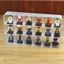 樂高人仔小人收納盒lego抽抽樂人偶頭分類透明展示盒儲物陳列盒子