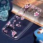 For Samsung Galaxy J2 Pro (2018) Pink Plum Blossom Pattern Oil Embossed Soft TPU Protective Back Case - intl