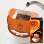 日本進口MON CAFE掛耳式咖啡包10片入低咖啡因黑咖啡粉包郵
