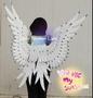 可接訂製 上色 天使翅膀 CSOPLAY 漫展仿真翅膀  非羽毛翅膀 模特走秀表演翅膀婚慶拍攝道具
