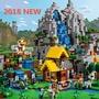 我的世界 minecraft 當個創世神 山洞 風車 村莊 苦力怕 斯蒂夫 相容 樂高LEGO積木 交換禮物 兒童玩具