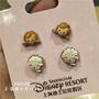 代購產品 迪士尼樂園國內代購 冰雪奇緣艾莎安娜卡通耳釘可愛耳環動漫飾品