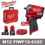 Milwaukee 米沃奇 M12FIWF12-632C 12V 無刷 4分電動板手 衝擊板手套筒板