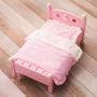 Jill Baby ❤日單 Mother Garden 粉色草莓兔 寵物木床/寵物窩/狗木床/寵物床/狗床狗窩貓床貓窩