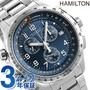 hamirutonkakiavieshon X-窗GMT計時儀46mm男子的手錶H77922141 HAMILTON鐘表藍色 nanaple