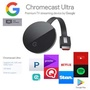Google Chromecast Ultra Black NEW Sealed