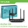 TP-LINK Archer A6 雙頻 無線路由器 AC1200 MU-MIMO 【每家比】