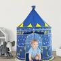 SHIN♥♡可攜式兒童公主王子遊戲帳篷-彈出式帳篷可折疊成可攜帶的袋子-室內和室外使用(OPP)