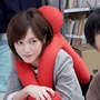 🔥🔥【現貨秒發】日本田翼同款網紅色人形環臂抱枕靠枕辦公室公仔兩個爸爸絕對零度