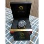 德國品牌 CAESAR 凱薩王 -真三眼藍色卡夢手錶