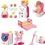 現貨📣正版小美樂娃娃系列配件組小熊果汁機冰箱組草莓音效馬桶小熊雙人床洗衣機組吸塵器(450元)