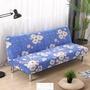 LRRH-美式鄉村簡約現代萬能全包三人座可折疊沙發床無扶手沙發套沙發罩
